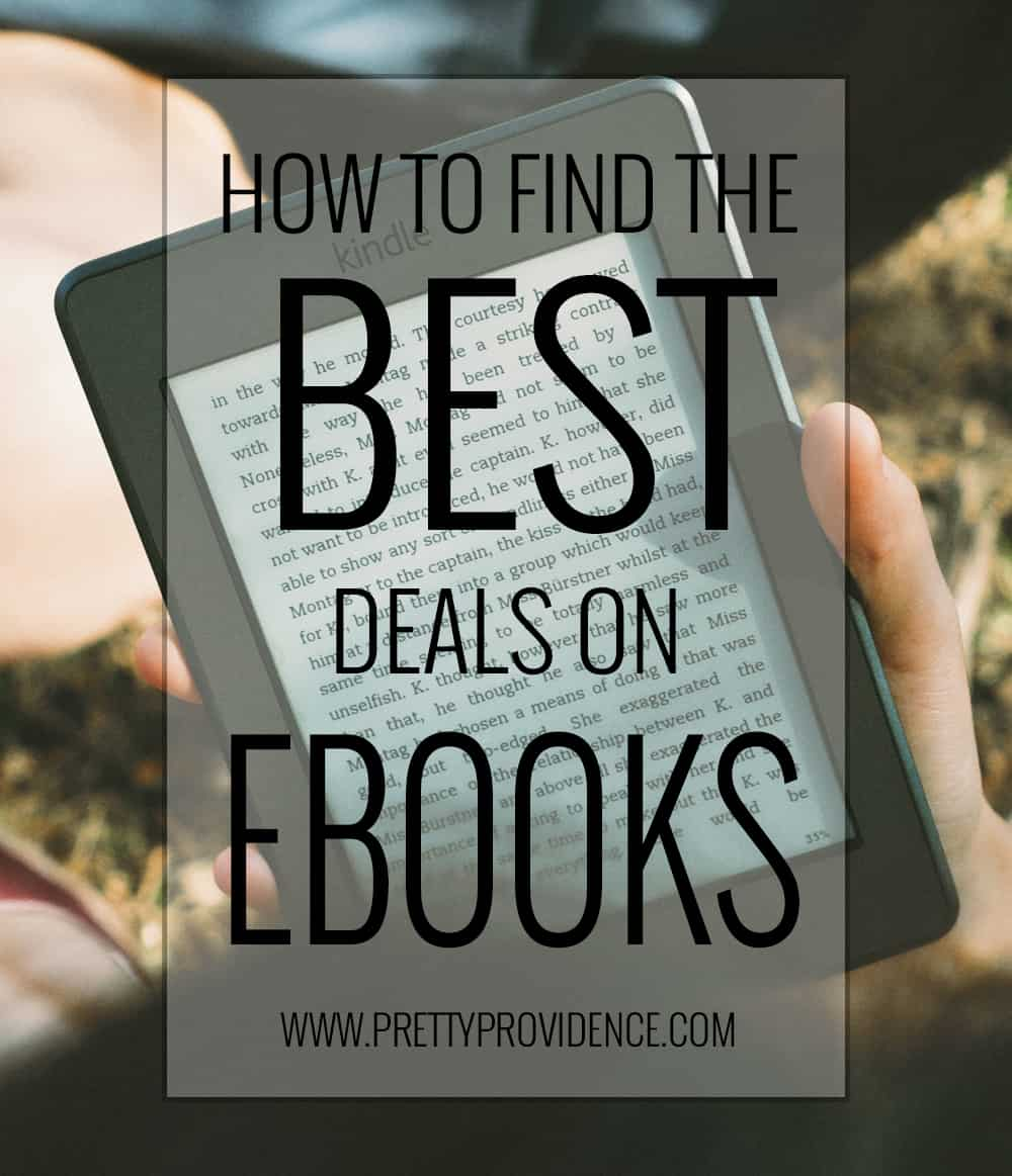 How to find the BEST deals on ebooks! Even tons of really awesome free options! If you are a reader, you NEED this in your life!