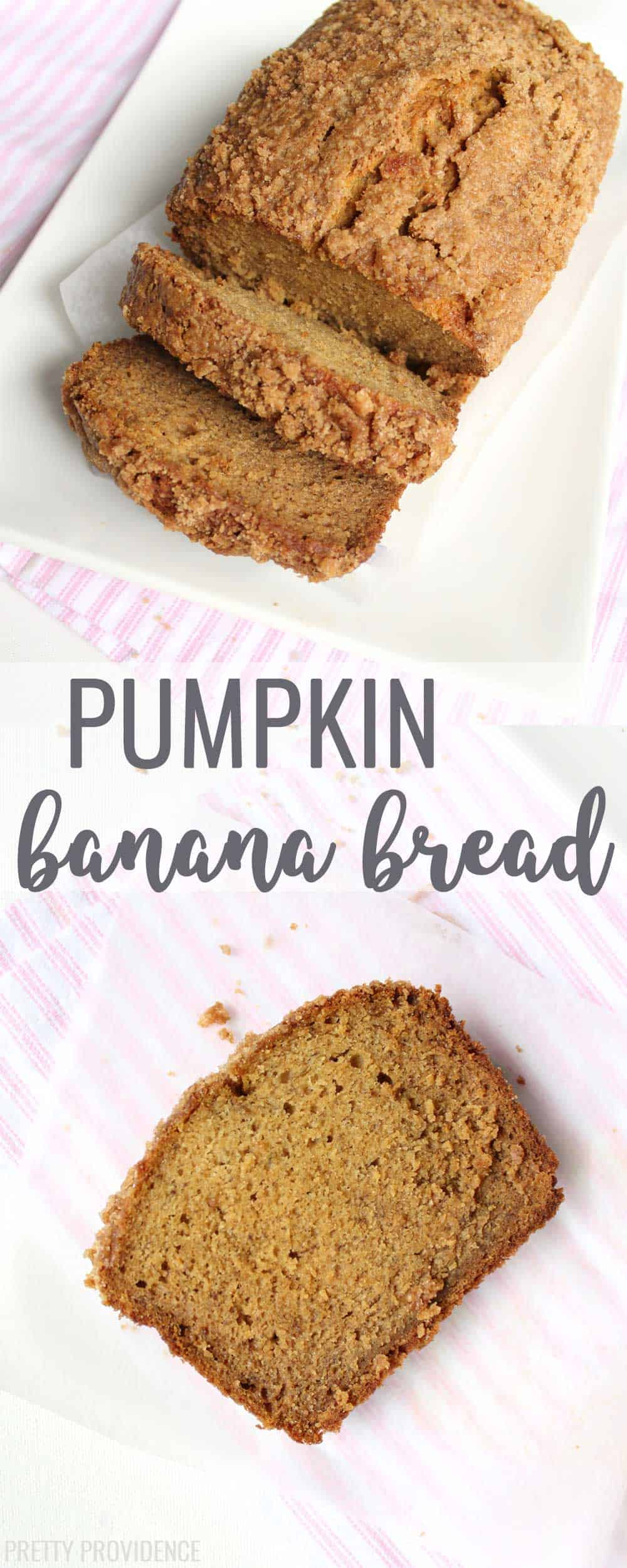 Pumpkin. Banana. Bread!