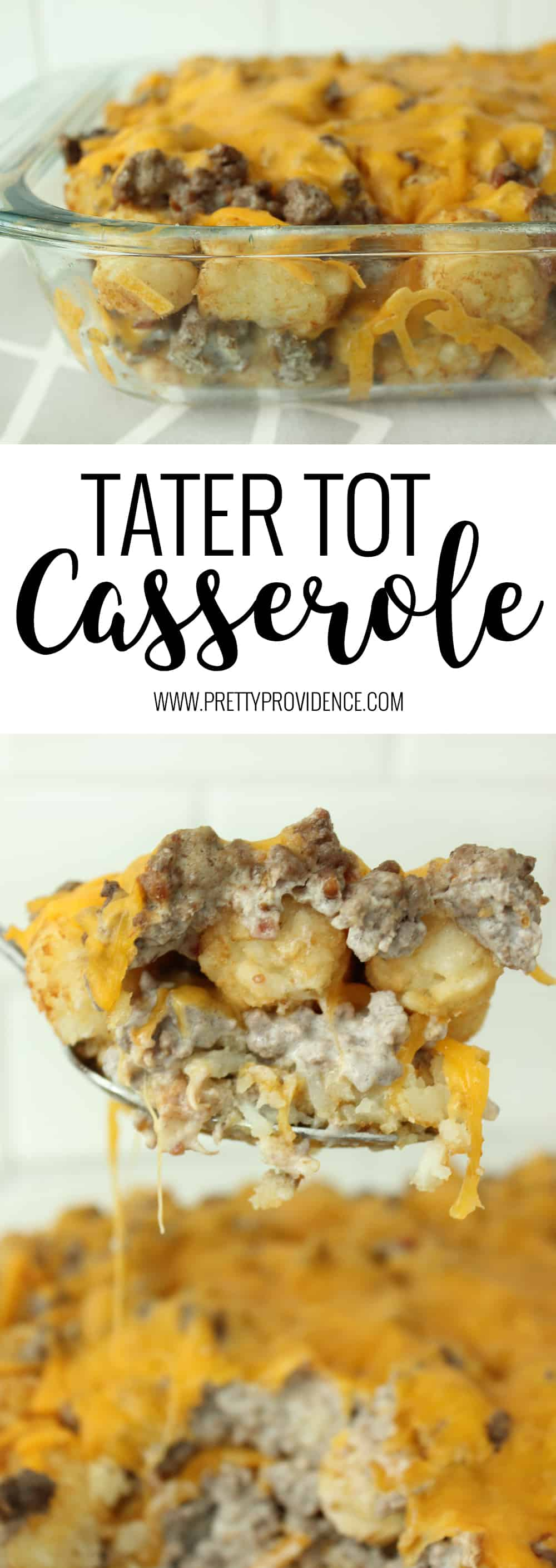 BEST tater tot casserole EVER! We love this recipe at our house! Adults and kids alike will scarf this one and ask for seconds!