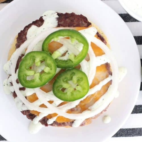 Jalapeño Ranch Burger