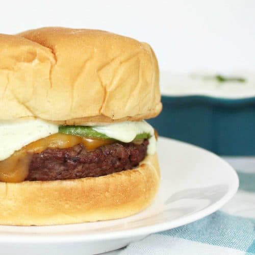 Jalapeño Ranch Burger