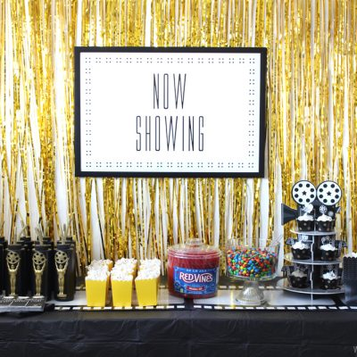 Fun and Easy Movie Party