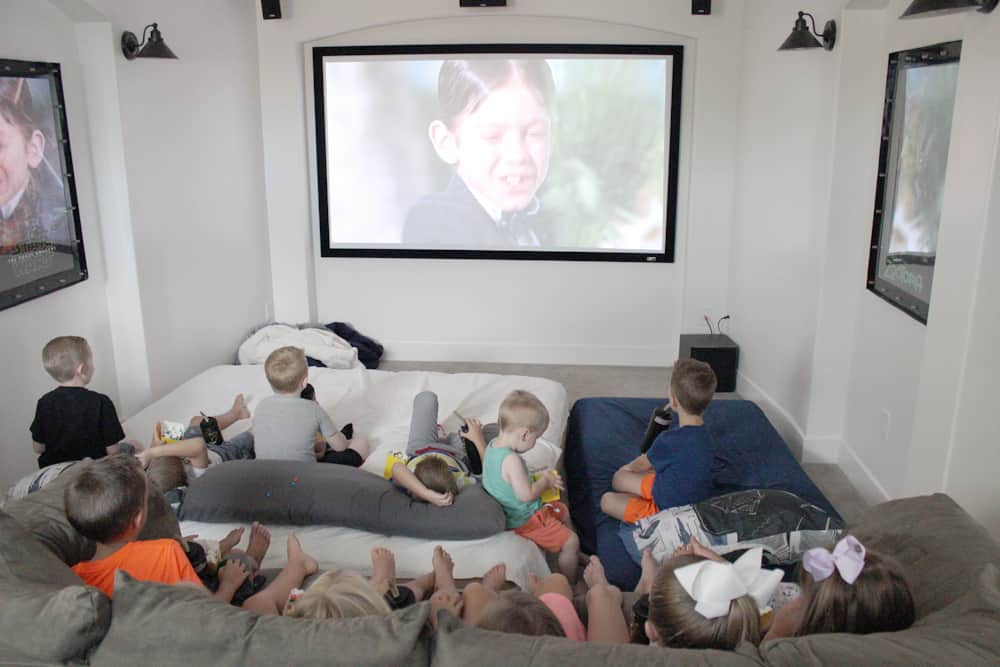 My son LOVED this fun and easy movie party we threw for his sixth birthday! Affordable, festive and all the kids loved it!