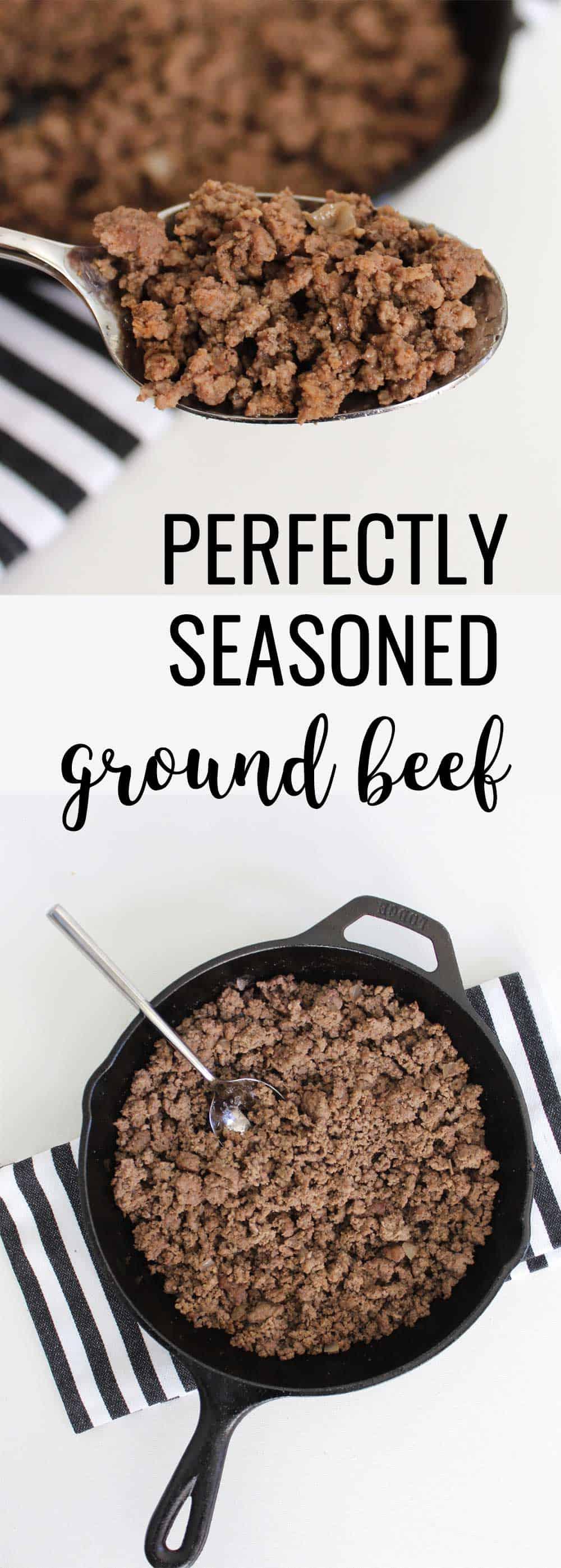 Perfectly Seasoned Ground Beef