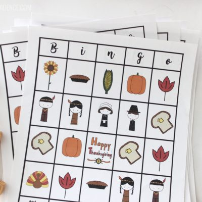 Free Printable Thanksgiving Bingo