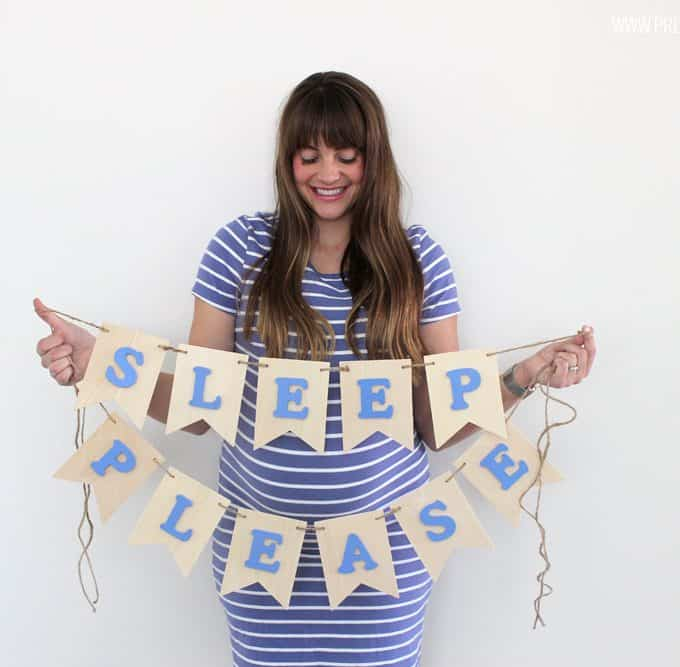 Easy DIY Nursery Banner