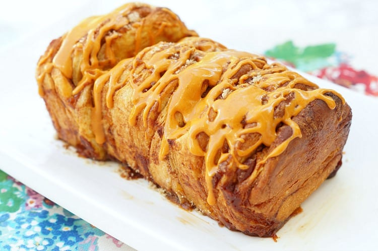 Pumpkin Pie Pull Apart Bread!