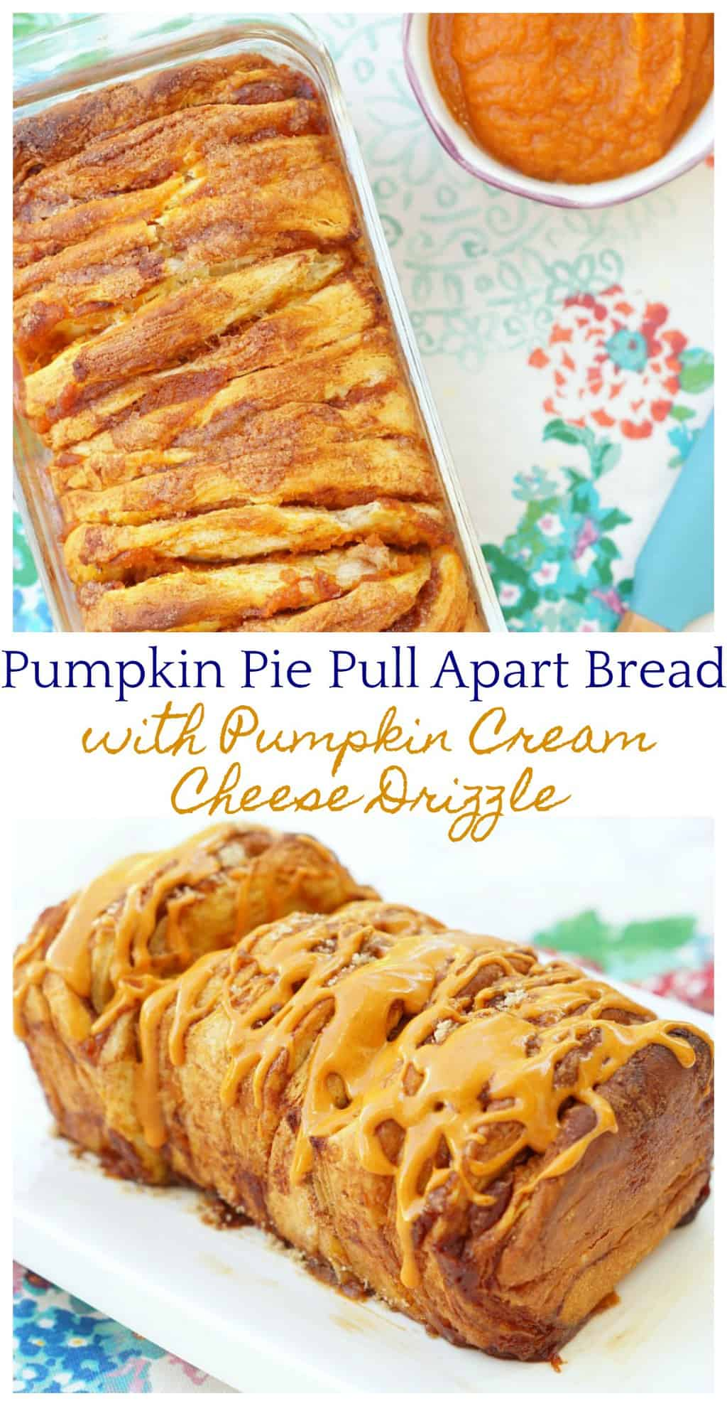Pumpkin Pull Apart Bread! This is absolutely incredible and easy too!