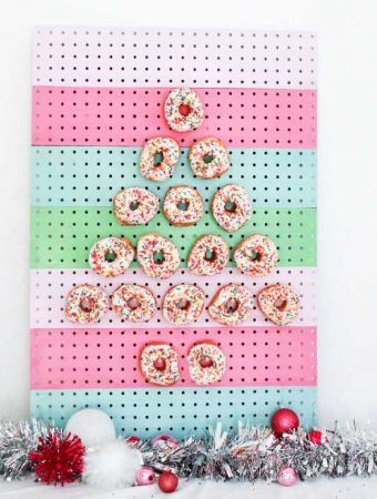 How to Make a Donut Pegboard