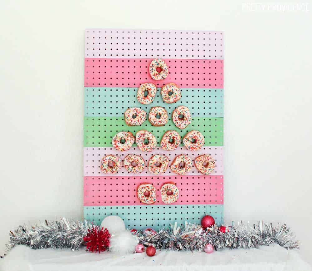 pegboard-with-donuts-display