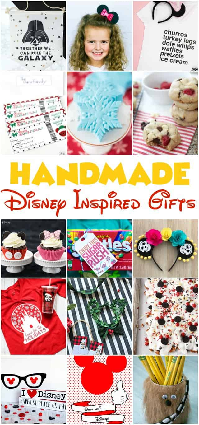 All of these Disney gift ideas are amazing! Find the perfect handmade gift for a disney lover!