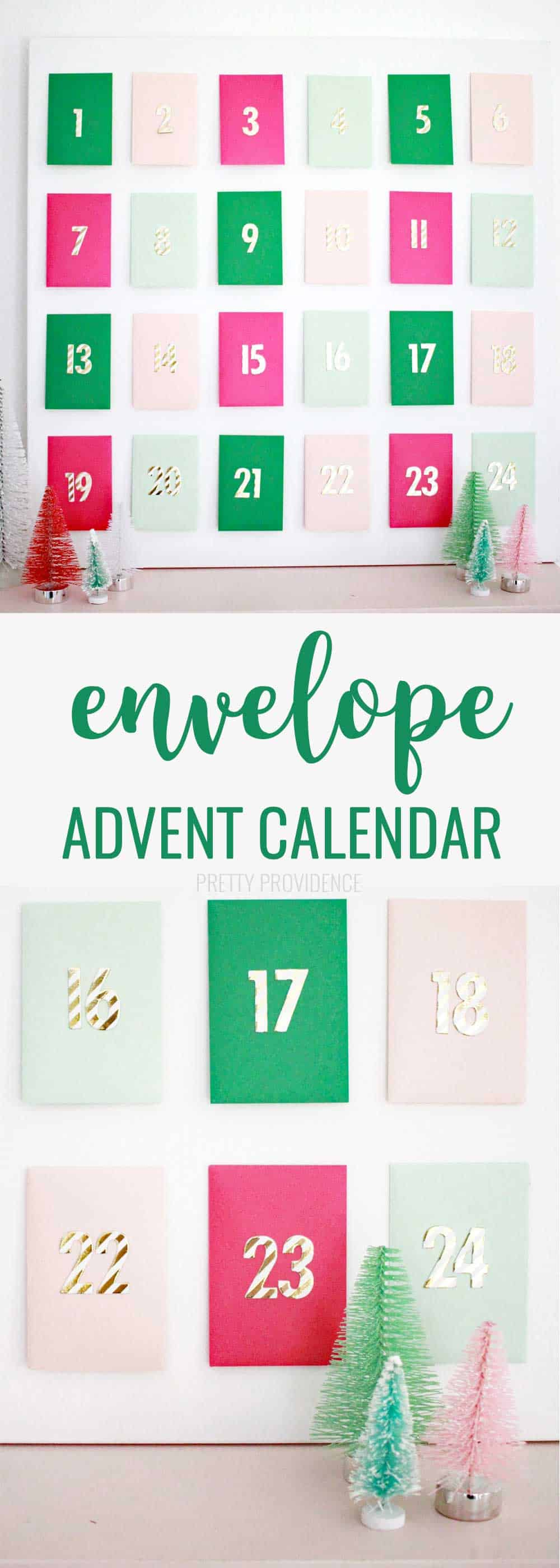 DIY Advent Calendar with Envelopes!