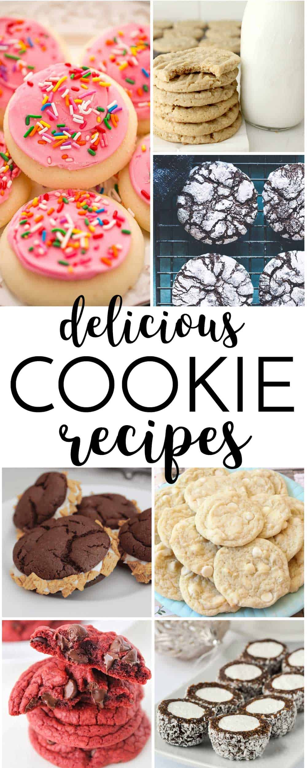 DELICIOUS cookies here! of all kinds! You can find classic cookies and unique, new cookie recipes to try!