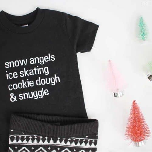 Christmas Pajama Shirts