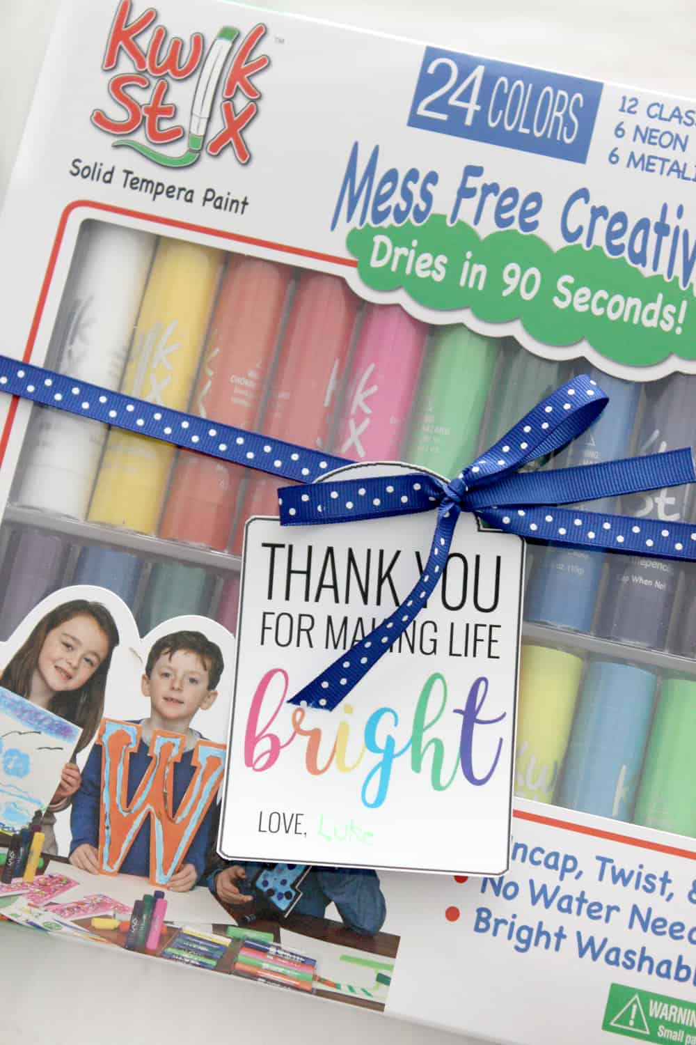 "I love these cute ""Bright"" free printable gift tags! Such a fun gift for teacher appreciation or a friend!"