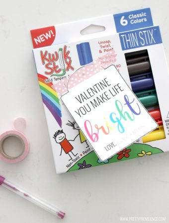 """I love these cute """"Bright"""" free printable gift tags! Such a fun gift for a teacher or a friend!"""