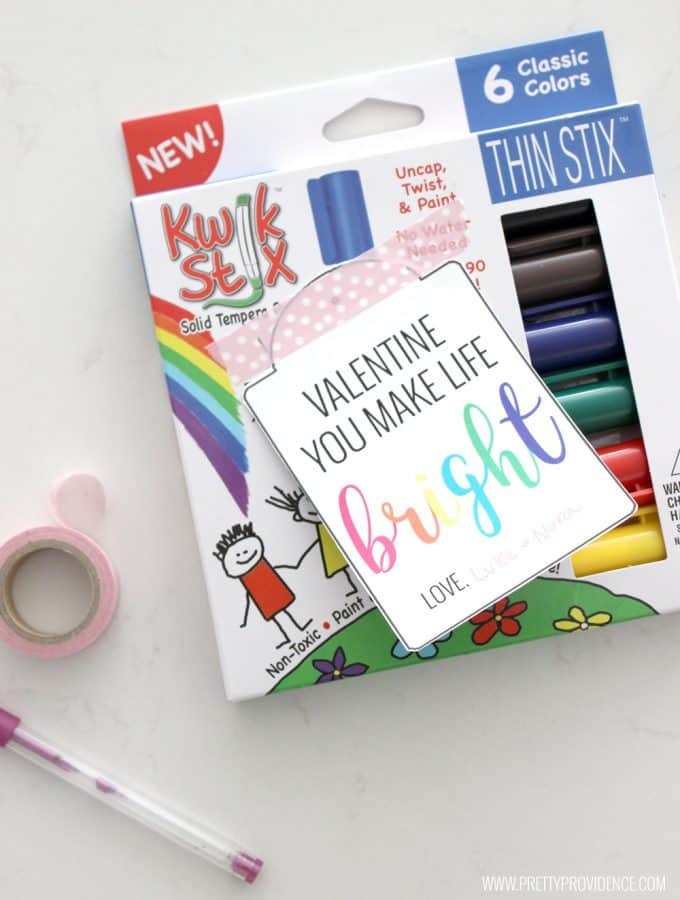 "I love these cute ""Bright"" free printable gift tags! Such a fun gift for a teacher or a friend!"