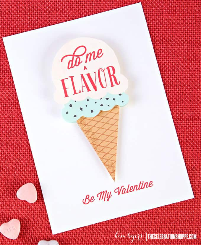 Do me a Flavor Valentines