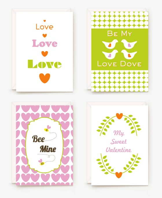 Valentine Free Printable Cards