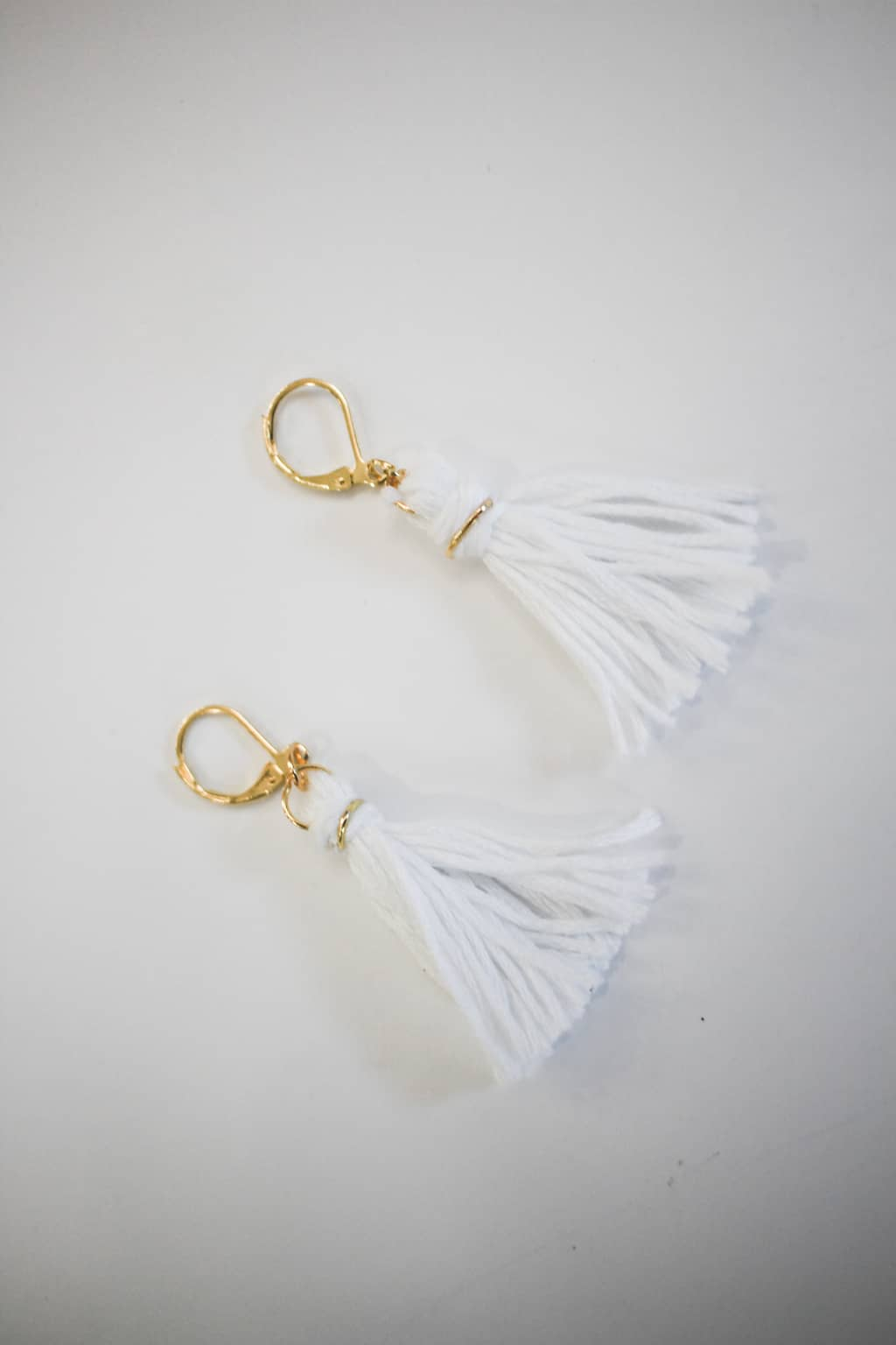 Don't splurge on tassel earrings when you can make a cute pair exactly how you'd like them!