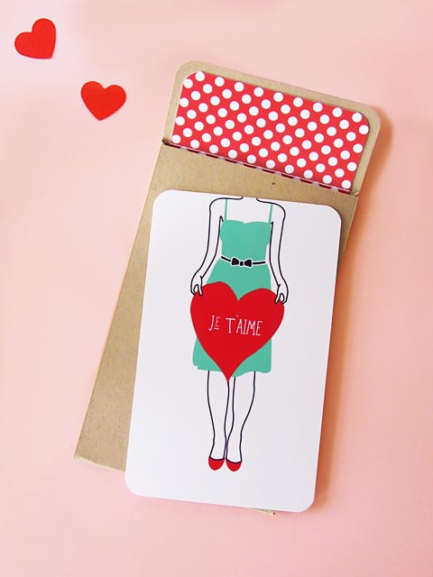 Free Printable Valentine Cards Eat Drink Chic