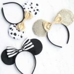 I love these easy DIY Mickey Ears! Perfect to wear to Disney World or Disneyland or for a birthday party!