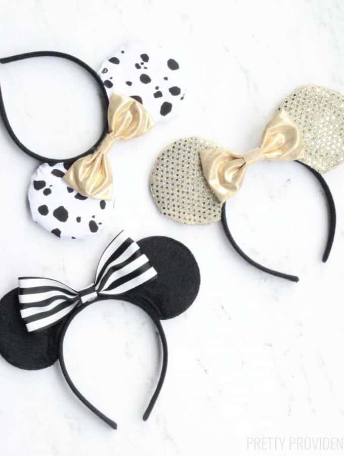 DIY No-Sew Disney Ears