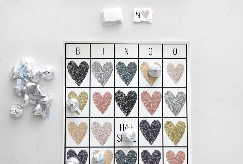 photo about Valentines Bingo Cards Free Printable named Absolutely free Printable Valentines Working day Bingo Playing cards - Charming Providence