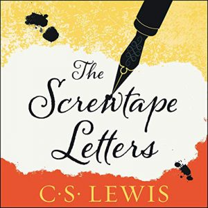 digital book cover of The Screwtape Letters by C.S. Lewis