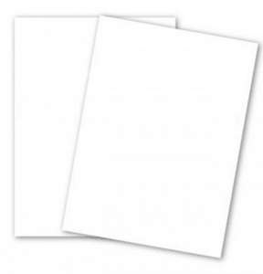 White Card Stock