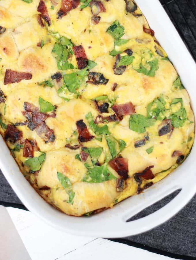 Bubble Up Breakfast Bake