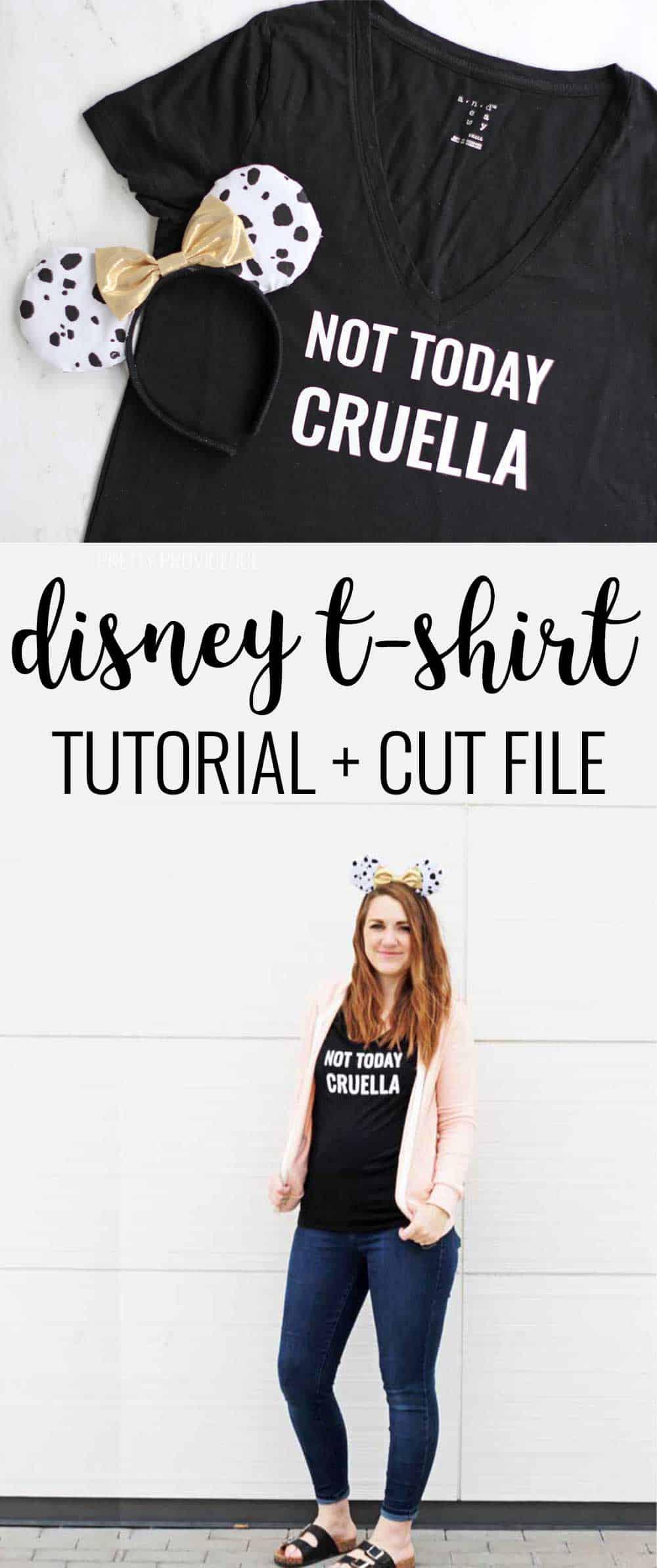 'NOT TODAY CRUELLA' T-Shirt for Disney World or Disneyland!