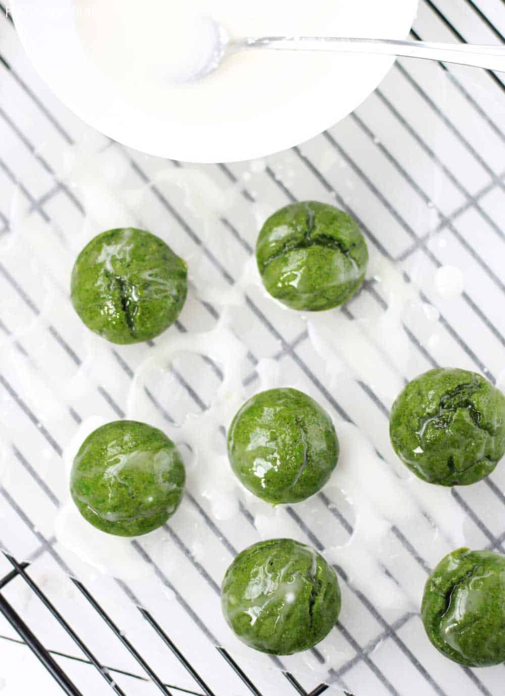Healthy green muffins!