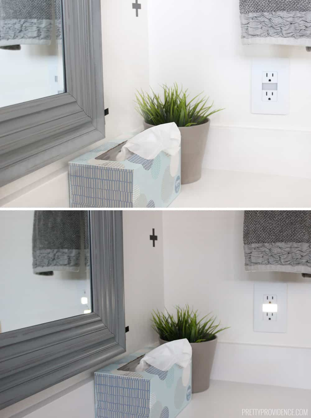Three electrical outlets that will change your life! These will save you money, time, and they look beautiful to boot! Definite win/win.