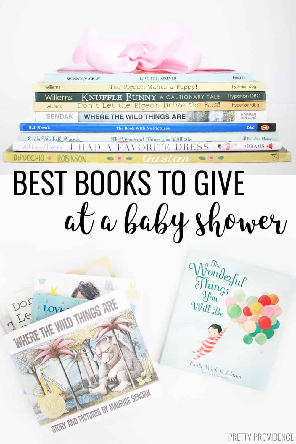 Best Books To Give At A Baby Shower Pretty Providence