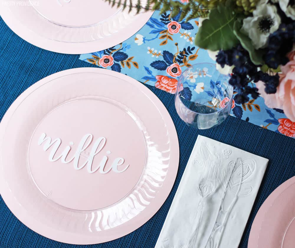 blue-pink-baby-shower-table