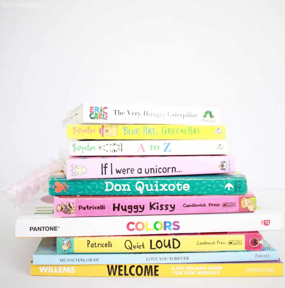 Baby Shower book instead of card. Book gifts for babies and toddlers!