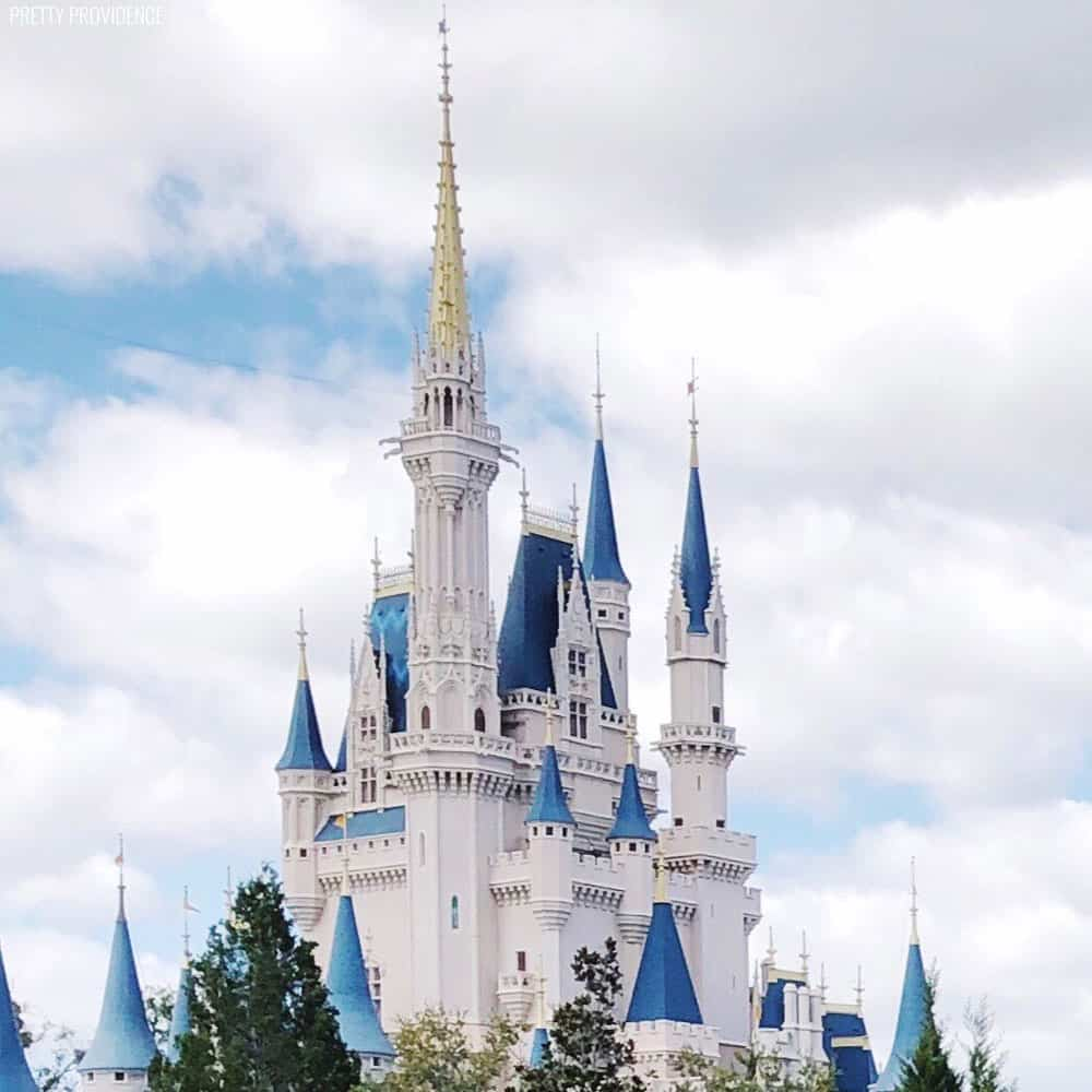 The castle at Magic Kingdom in Walt Disney World! #DisneySMMC