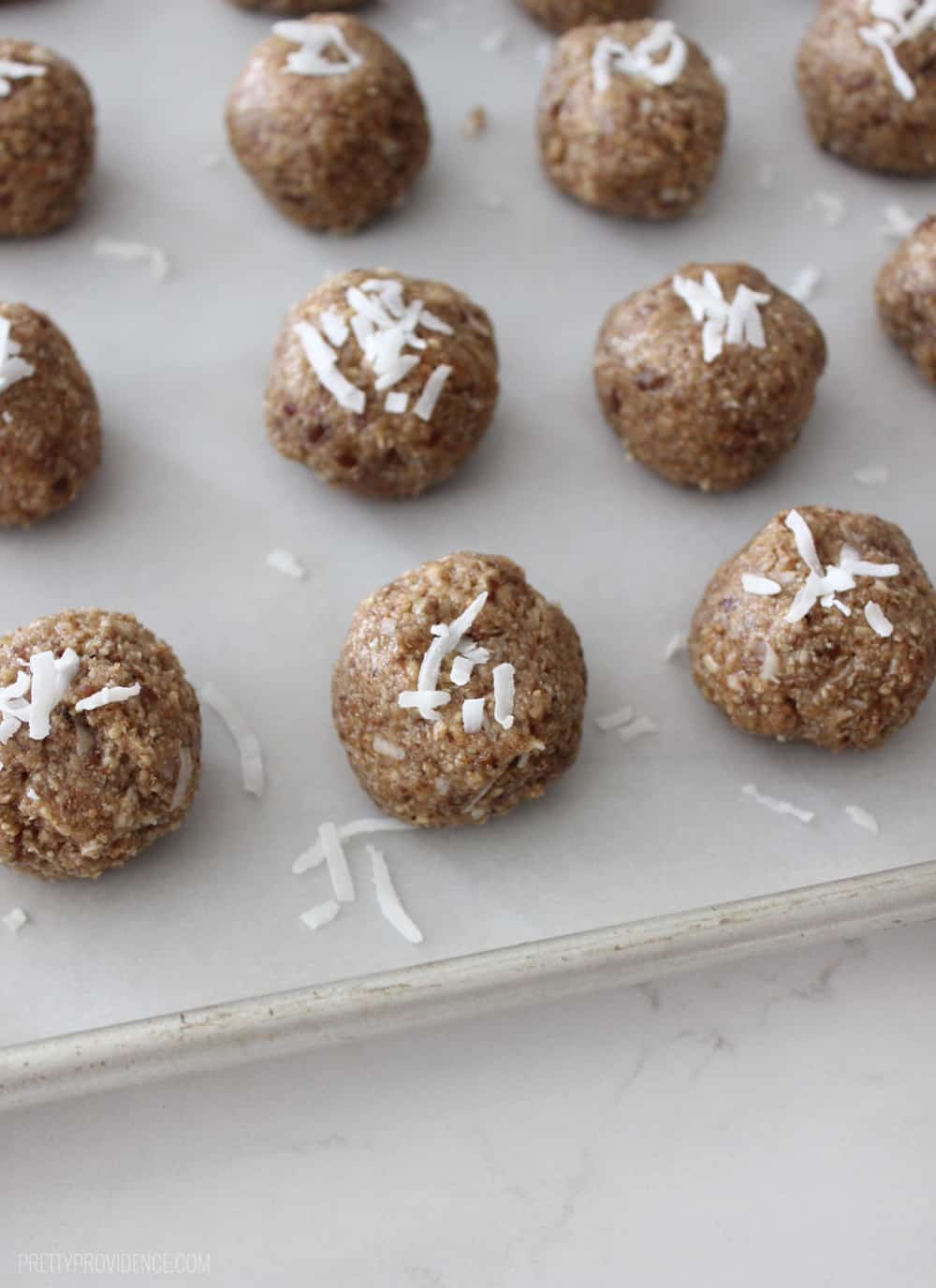 These super easy protein balls are the perfect healthy way to curb that sweet tooth! Even my kids love them!