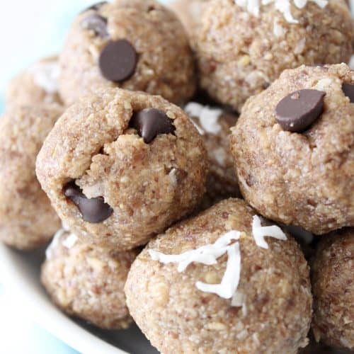 Super Easy Protein Balls