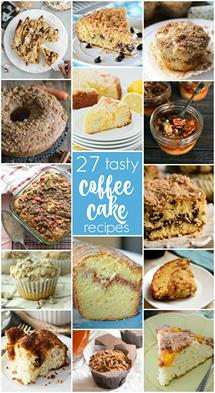 27 delicious coffee cake recipes you will love!