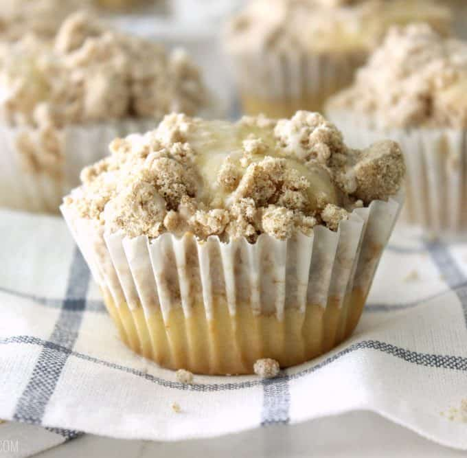 Heavenly Coffee Cake Muffins