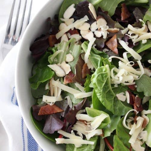 Family Favorite Salad + Dressing