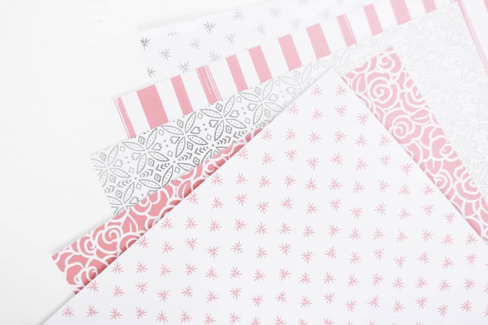 Foil Embossed Paper Cricut