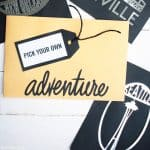 'Pick Your Adventure' Travel Gift Idea