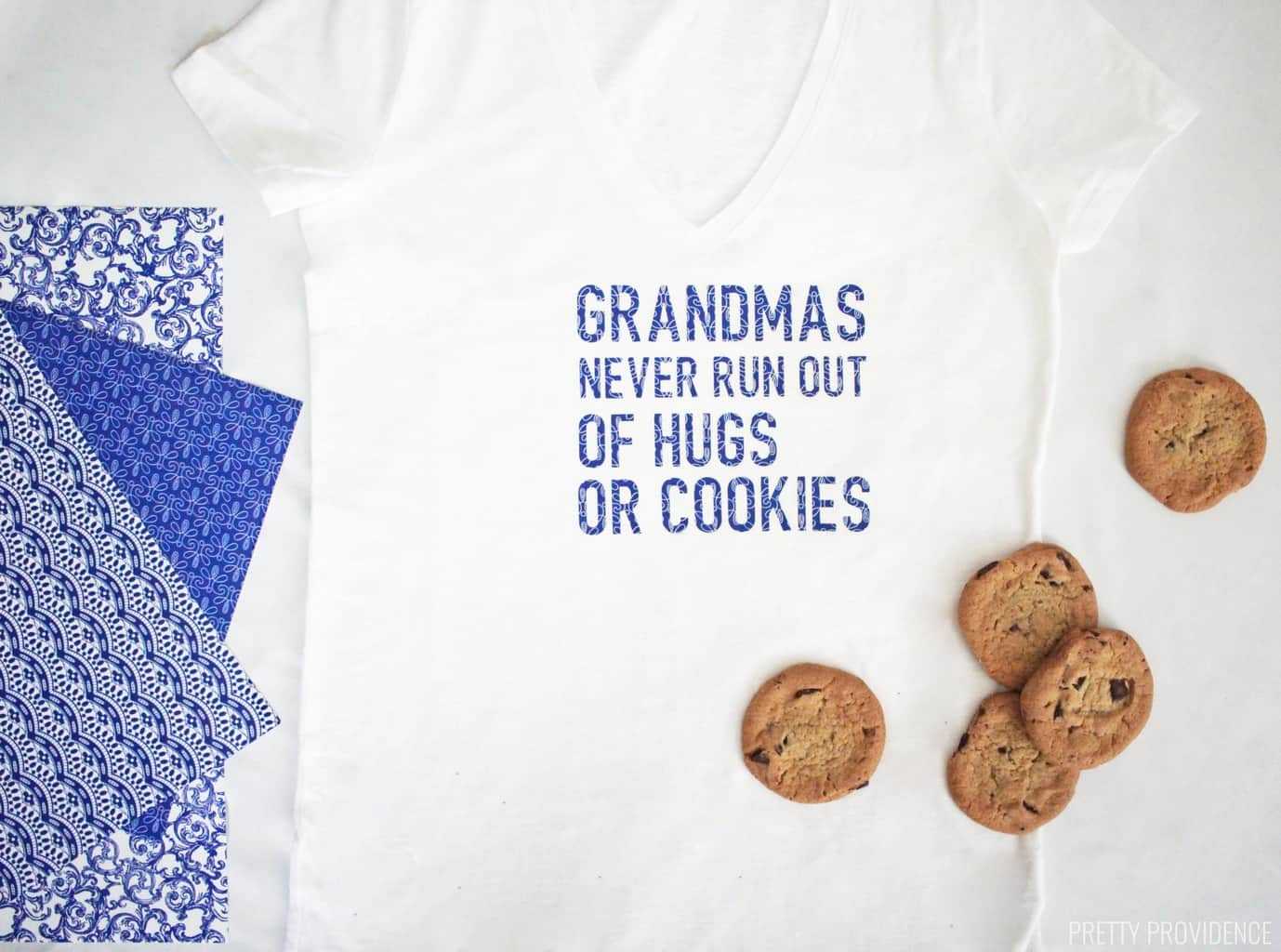This sweet Grandma shirt is the perfect Mother's Day gift for Grandma!