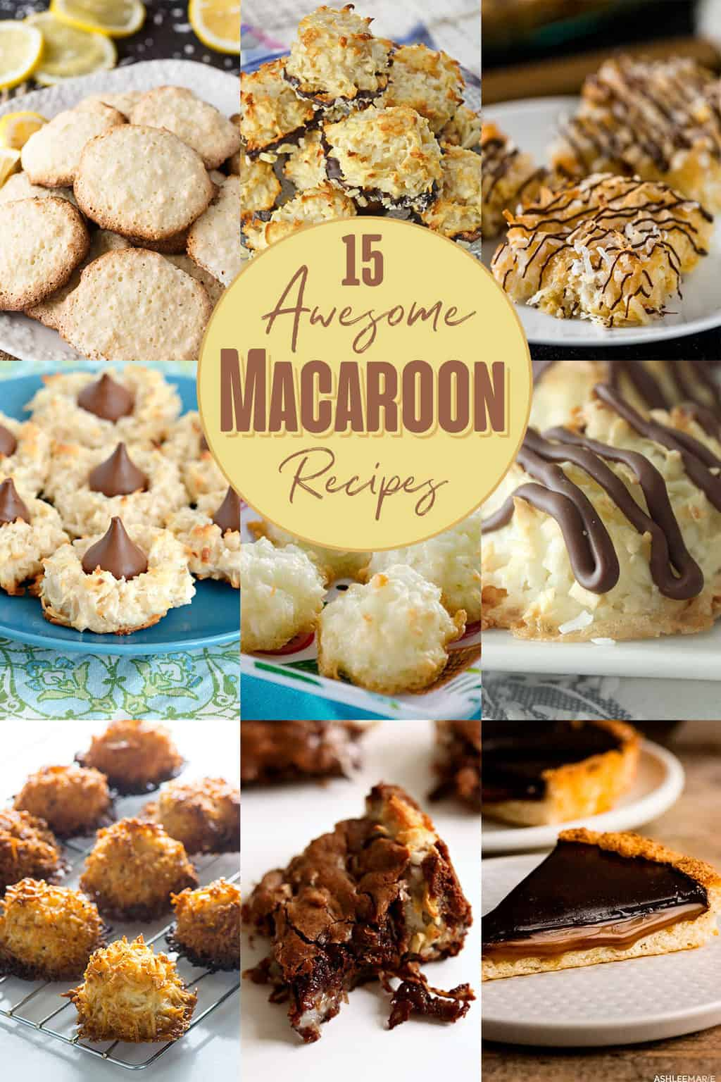 15 easy and delicious macaroon recipes!!!