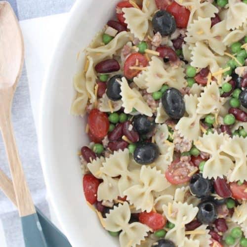 The Best Ever Bowtie Pasta Salad