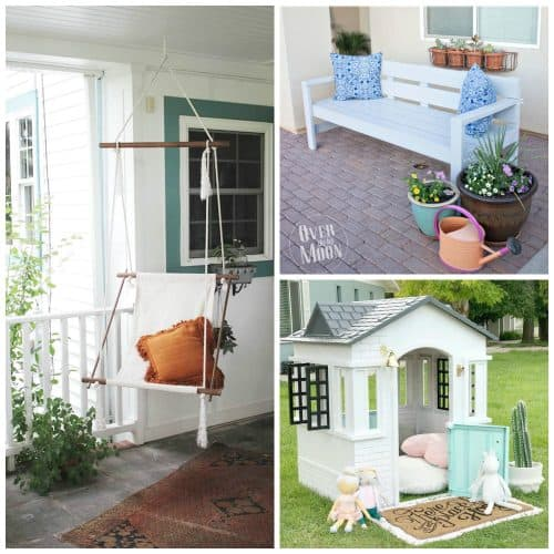 25+ DIY Backyard Ideas