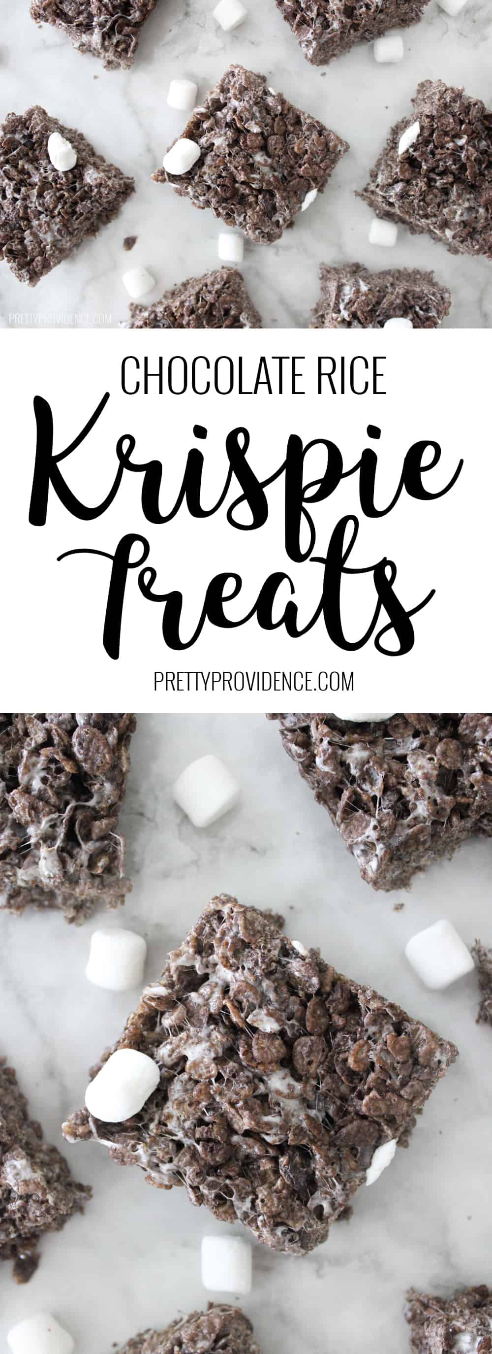 Super easy and delicious chocolate rice krispie treats! Perfect quick treat for when you don't want to turn on those ovens, or you need something delicious for a get together but are short on time! My kids like these better than the originals! #chocolatericekrispies #chocolatericekrispietreats #chocolatericekrispieballs #ricekrispierecipe #ricekrispies #nobake #nobaketreats